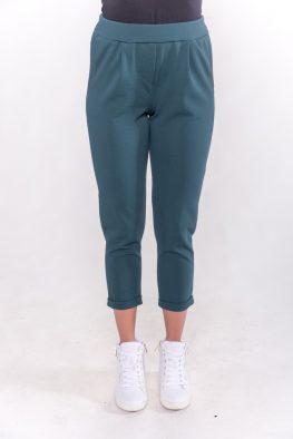 Παντελόνι με πιέτα ρεβέρ και τσέπες