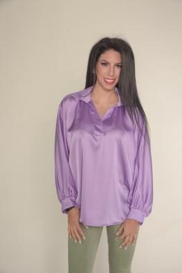 Γυναικεία μπλούζα με πολύ φαρδιά μανίκια